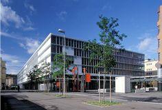 ABB Headquarters Cityport building in Zurich Oerlikon, Switzerland