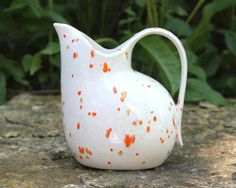 Red Wing Pottery Pitcher Futura