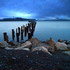 Puerto Natales, XII Región de Magallanes. Fotografía de Miguel Angel Ramón maramon - Puerto Natales, XII Región de Mag