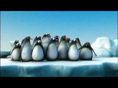 Belgian Transit De Lijn Commercial - Traveling in groups: Penguins