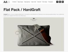 Hardgraft signe un sac qui s'adapte parfaitement à votre Ipad ou votre Macbook air. Fabriqué à la main dans des ateliers italiens, il est confectionné à partir de cuir végétal et de toile de coton Britannique. http://www.aa13.fr/design-objet/flat-pack-hardgraft-18453