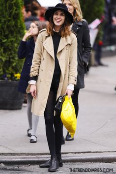 Alexa Chung out in New York City, New York - May 5, 2012