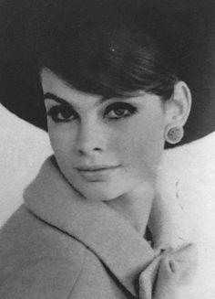 Jean Shrimpton fotografado por David Bailey para Glamour setembro 1963 (graças a Jane Davis)