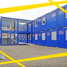 Our product range is as flexible as your project can come up. portable, sanitary cabins or storage container - for each request we have a solution. Portable Cabins, Storage Containers, Flexibility, Photo And Video, Building, Instagram, Videos, Photos, Storage Bins