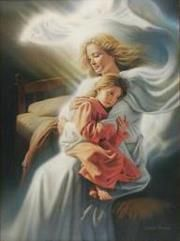 god, heaven, simon dewey, art, angels among us, children, inspir, angelsamongus, guardian angels