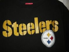 NFL AUTHENTIC STEELERS TSHIRT. PRICE INCLUDES FREE SHIPPING AND FREE PHOTONS