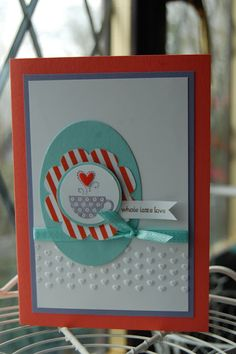 Stampin'spiration: Patterend Occasions