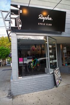 Rapha Cycle Club - SF