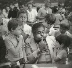Dizzy Gillespie. Photograph by Milt Hinton, 1981