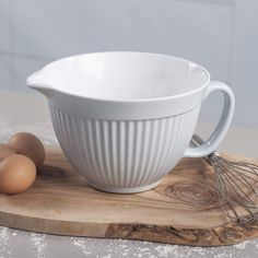 Zeal G208B Mixing Bowl/Batter Jug, Duck Egg Blue ... (This is an affiliate link) Duck Egg Blue, Mixing Bowls, Bowl Set, Mustard, Cream, Tableware, Canisters, Free Delivery, Sage