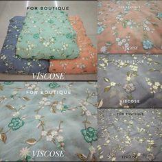 Thread embroidery on Viscose Fabric. 361047190 Fabric - Viscose DM for inquiry or order. WhatsApp no +91-8511248636.  Follow @forboutique30 for more designer collections.  #Forboutique #salwarkameezsuit #salwars #partywear #saree #salwarkameez #onlineshopping #suitfabric #fabrics #lehngafabric #sareefabric #georgettesaree #fabricstore #designerfabric #fashionblogger_de #weddingfashion #ethnicattire #etsy #fabricsinlagos #detalhes #madrinha #altacostura #trendylook #designerfabrics #resellers Georgette Fabric, Georgette Sarees, Suit Fabric, Viscose Fabric, Salwar Suits, Designer Collection, Fabric Design, Wedding Styles, Fabrics