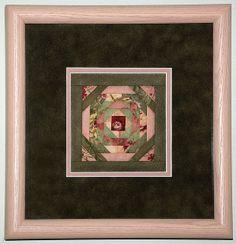 Pineapple framed mini quilt block | Flickr: partage de photos!