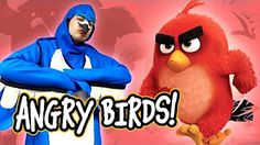 BECOMING ANGRY BIRDS (BTS) - YouTube
