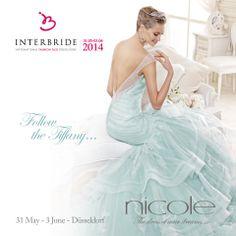 Nicole at Interbride - International Fashion Fair Dusseldorf. 31.05 - 03.06 2014.