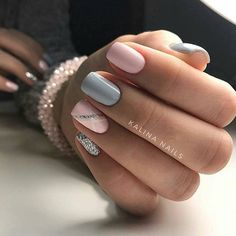 Semi-permanent varnish, false nails, patches: which manicure to choose? - My Nails Chic Nail Art, Chic Nails, Trendy Nails, Nails Polish, Shellac Nails, Pink Nails, Shellac Nail Designs, Nail Art Designs, Fabulous Nails
