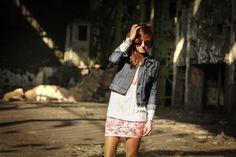 She Likes Fashion: RETRO REVO COLOR MIRRORED LENS METAL AVIATOR SUNGLASSES 1485