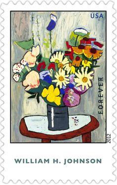 William H. Johnson   Stamp Issue 4.11.12   USA Philatelic