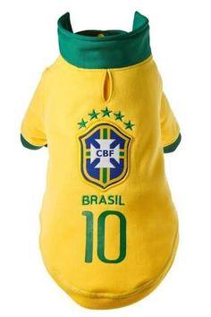 4419b67690c Dog Clothes T-shirt World Cup Football 2018