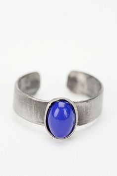 Littlest Stone Cuff Toe Ring
