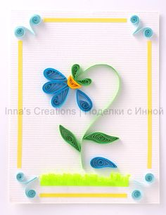 Flower, quilling