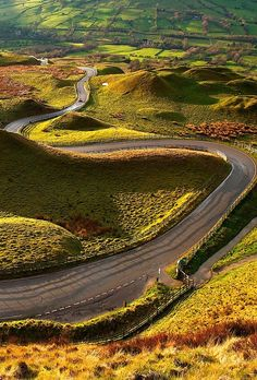 The road may be narrow, but the view...the view is beyond expansive.