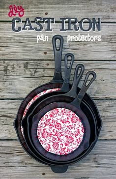 DIY Cast Iron Pan Protector