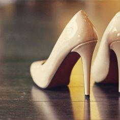Nude heels are sooo classy <3