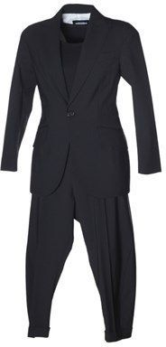 DSQUARED2 Women's Black Wool Dress.