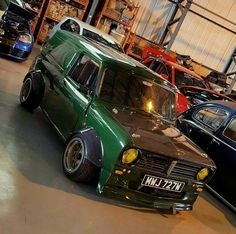 Mini Cooper S, Mini Cooper Classic, Classic Mini, Classic Cars, Fancy Cars, Retro Cars, Customised Trucks, Day Van, Mini Clubman