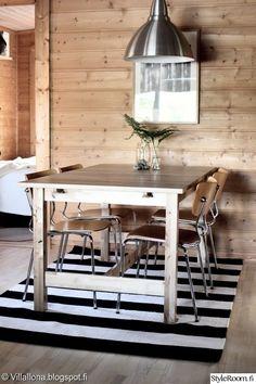 keittiö,ruokailutila,mökki,pelkistetty,remontti