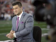 He's a good-looking guy. | 7 Reasons Why Tim Tebow Is Actually A Great Fit For ESPN, Looks like its time to start watching ESPN now.