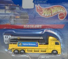 Hot Wheels Loaders Telephone Repair Truck 1:64 Scale by Mattel. $8.95. 1:64 Scale. Collectible!. Die cast metal & plastic parts. Hot Wheels Loaders Telephone Repair Truck.