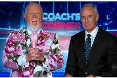 Don Cherry's suit looks like your grandma's curtains