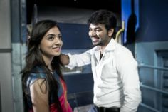 Jai and Nazriya Nazim in Thirumanam Ennum Nikkah Movie