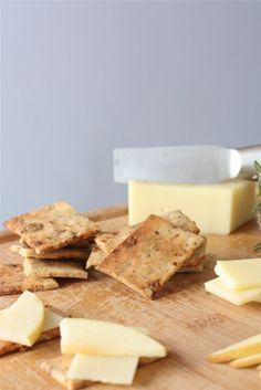 Savory and Sweet Crackers (with Almond Flour) - Against All Grain