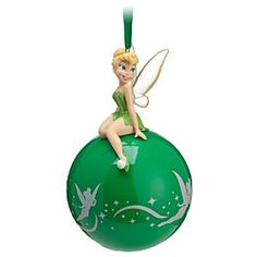 Disney Tinker Bell Sketchbook Ornament | Disney StoreTinker Bell Sketchbook Ornament - Our spirited sprite is having a ball on this twinkly Tinker Bell ornament. Fully sculptured Tink sits on top of a glittering glass globe just waiting to soar high in your holiday tree.