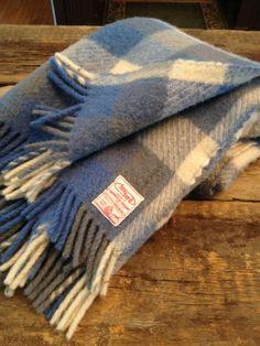 Foxford Vintage Wool Stadium Blanket - Ireland