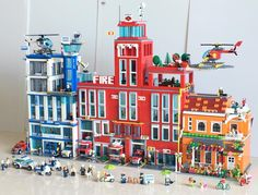 Blue-Red-Orange.  #legomocs #lego #legostagram #legoland #legocity #legomodulars #art #artistsoninstagram #toys #toyartistry #bank #creations #minifigures #artandcraft #kids #architecture #landscape #toyphotography #miniworld #brickgeekz #legophotos #legoafol #legocity #legomania #legocommunity #minifigures #legocreator #legocreatorexpert #myalternatecity