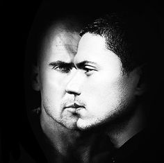 Dominic Purcell and Wentworth Miller - Lincoln and Michael from Prison Break