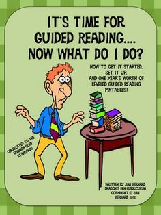 If the thought of guided reading makes you pull your hair out, or even if you are a guided reading guru who's looking for more materials, this 159 page packet has everything you need! For teachers unsure of where to begin, or who have seen the whole guided reading process go strangely wrong, the instructions in this packet help to lead you back to success. Then it provides you with forms, question cards, 100 activity sheets and more to use with your guided reading groups.  $