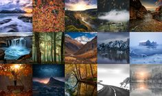 """New Vuo composition from Bodysoulspirit: """"500px Popular Images Grid"""""""