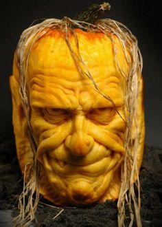 Pumpkin old man