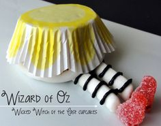 Wizard of Oz Cupcake By JustJENN