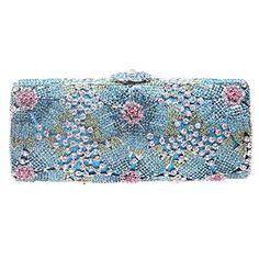 Fawziya Bling Sakura Flower Baguette Hard Case Clutch Purse Luxury Rhinestone Crystal Evening Clutch Handbag-Blue Fawziya http://www.amazon.com/dp/B00MECD6QC/ref=cm_sw_r_pi_dp_0W-Jub0ED82T8