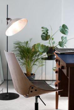 home office design idea. Private Apartment in Belgrade, Serbia by Studio AUTORI | Yellowtrace