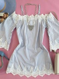 Mode Rock, Baby Dress Patterns, Country Outfits, Bead Weaving, Casual Looks, Clothes For Women, Bella, How To Wear, Blouses