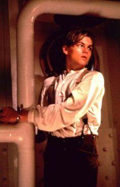 Leonardo DiCaprio - Titanic he looks incredibly attractive here ;)