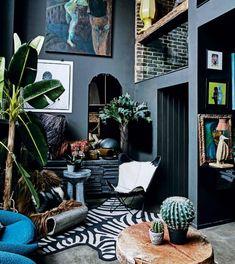 Eclectic interior design ideas tips for eclectic style eclectic home decor. Modern Interior Design, Interior Design Inspiration, Design Ideas, Contemporary Interior, Bohemian Interior, Scandinavian Interior, Interior Ideas, Design Projects, Modern Art