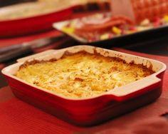 Zuppa di zucca e patate in forno