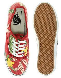 #Heatwave: Vans shoes...Oh ya...Hawaiian style!